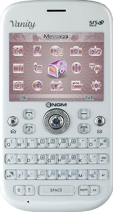 9 opinioni per NGM Vanity Qwerty Smartphone, Dual SIM, Bianco [Italia]