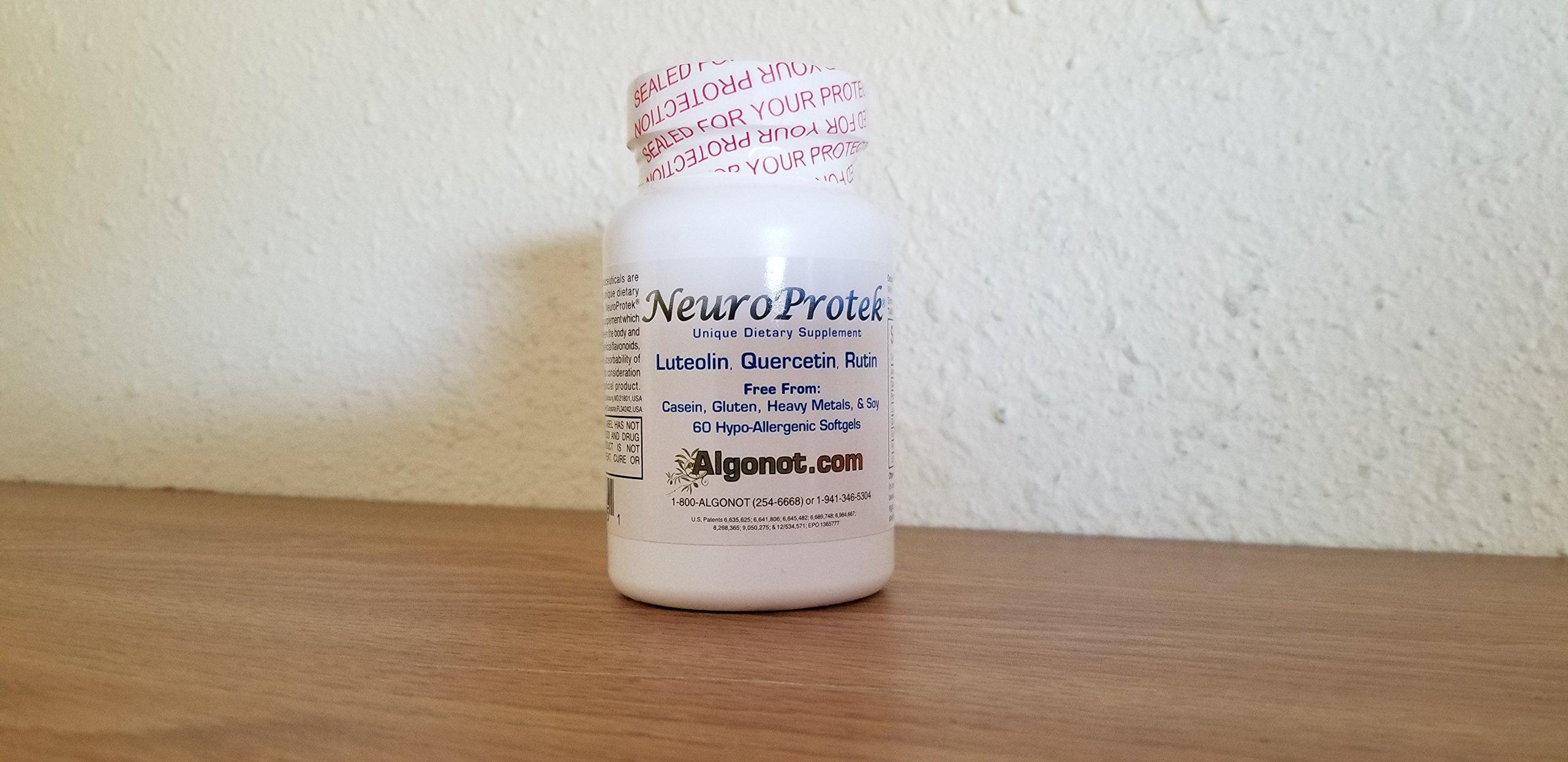 NeuroProtek 4 bottle 10% discount pack (60 softgel per bottle)
