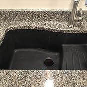 Swanstone Granite Kitchen Sink Qzad 3322 075 Bianca Drop