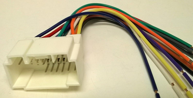 Amazon.com: Wire harness for Installing a new radio into a HONDA, PILOT ,  2003, 2004, 2005, 2006, 2007, 2008: Car Electronics