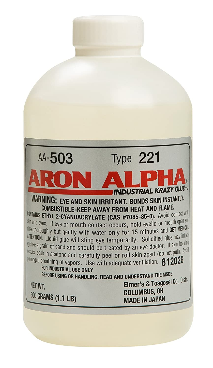 Amazon com: Aron Alpha Type 221 (2 cps viscosity) Fast Set Instant