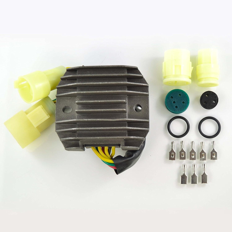 Mosfet Voltage Regulator Rectifier For Kawasaki Ninja ZX 6R ZX 6RR 2003 2004 OEM Repl.# 21066-0002
