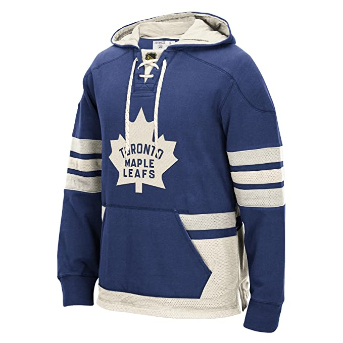 premium selection 25cf5 c0367 Toronto Maple Leafs CCM Retro Pullover Lace Hoodie - Size ...