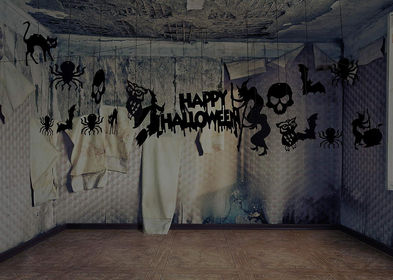 Lelengder 19 Stuck Halloween Hangende Dekorationen Decke Hangende