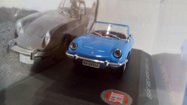 1969 Azul Desconocido 1//43 Seat 850 Sport Spider