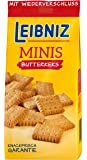 Leibniz Minis Butterkeks im 12er Pack — Mini-Kekse in der Großpackung — Keks-Box mit Butter-Gebäck in 12 Kekstüten — Vorrats-Box (12 x 150 g Tüten)