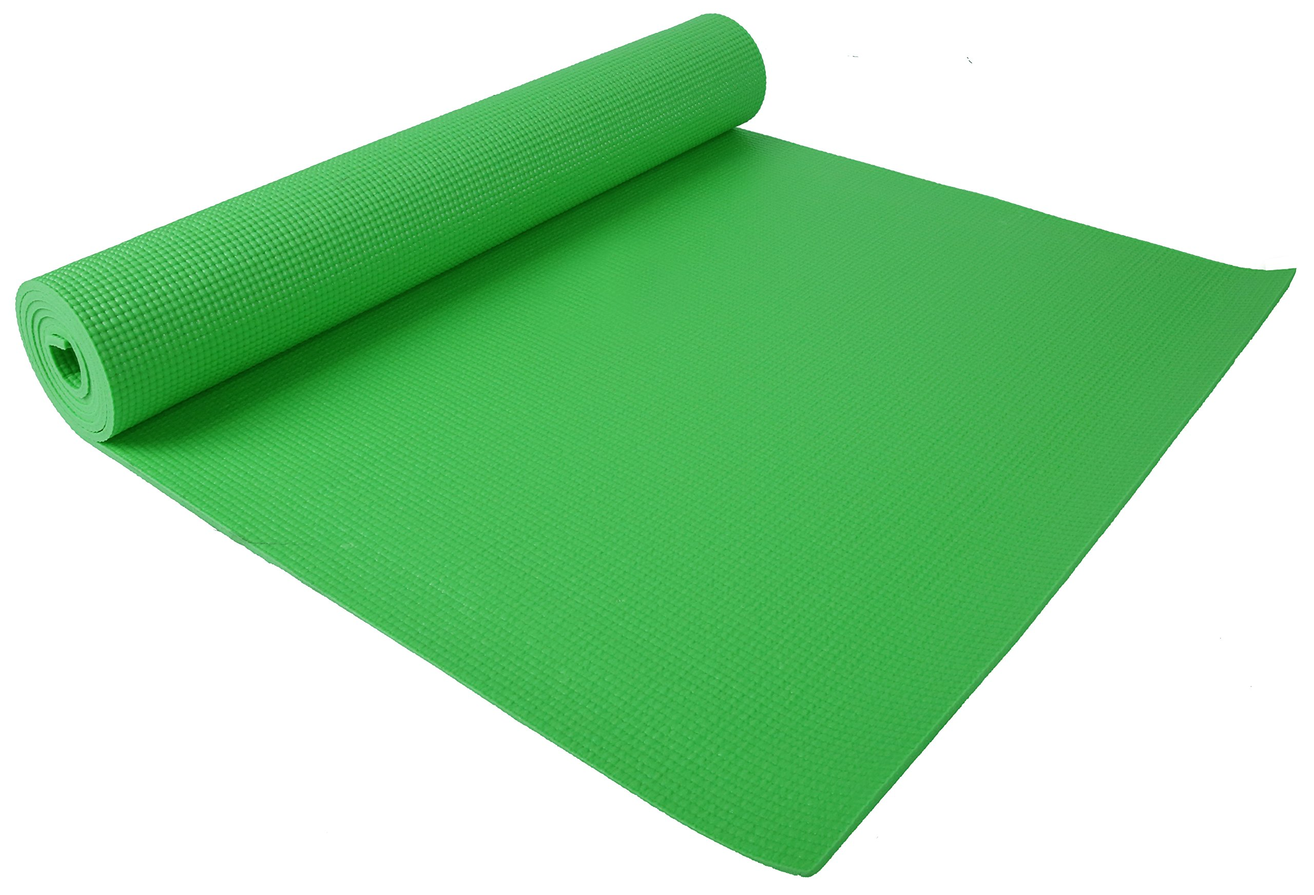 6mm Thick Trimming Shop Black Exercise Yoga Mat Non Slip With Comfort Foam And Yoga Instructions All Purpose Exercise Mats Konozsigns Com