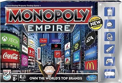 Hasbro Monopoly Imperio Juego: Amazon.es: Juguetes y juegos