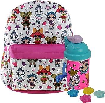 "LOL Surprise Hip Hop Club 5-Piece Backpack Set Purple 16/"" New School Essentials"