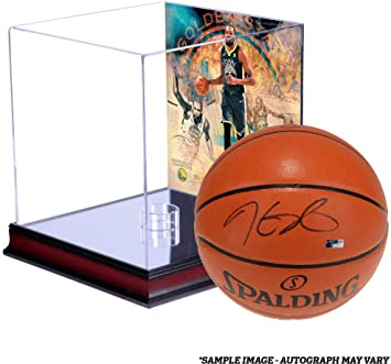 c8bfbbffc8b3 Kevin Durant Golden State Warriors Autographed 2018 NBA Finals Champions  Indoor Outdoor Basketball with Mahogany