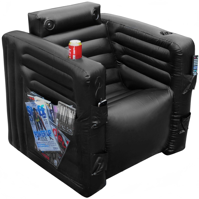 BBTradesales Inflatable Gad Chair Black Amazon Kitchen