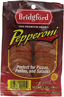 product image for Bridgford Pepperoni, Sliced, 5-Ounce Packages (Pack of 6)
