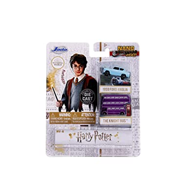Jada Toys Nano Hollywood Rides- Harry Potter Vehicles 2-Pack: Toys & Games