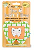 Rich Frog The Tooth, Tooth Fairy and Tooth Keepsake Pillow, Green, Small