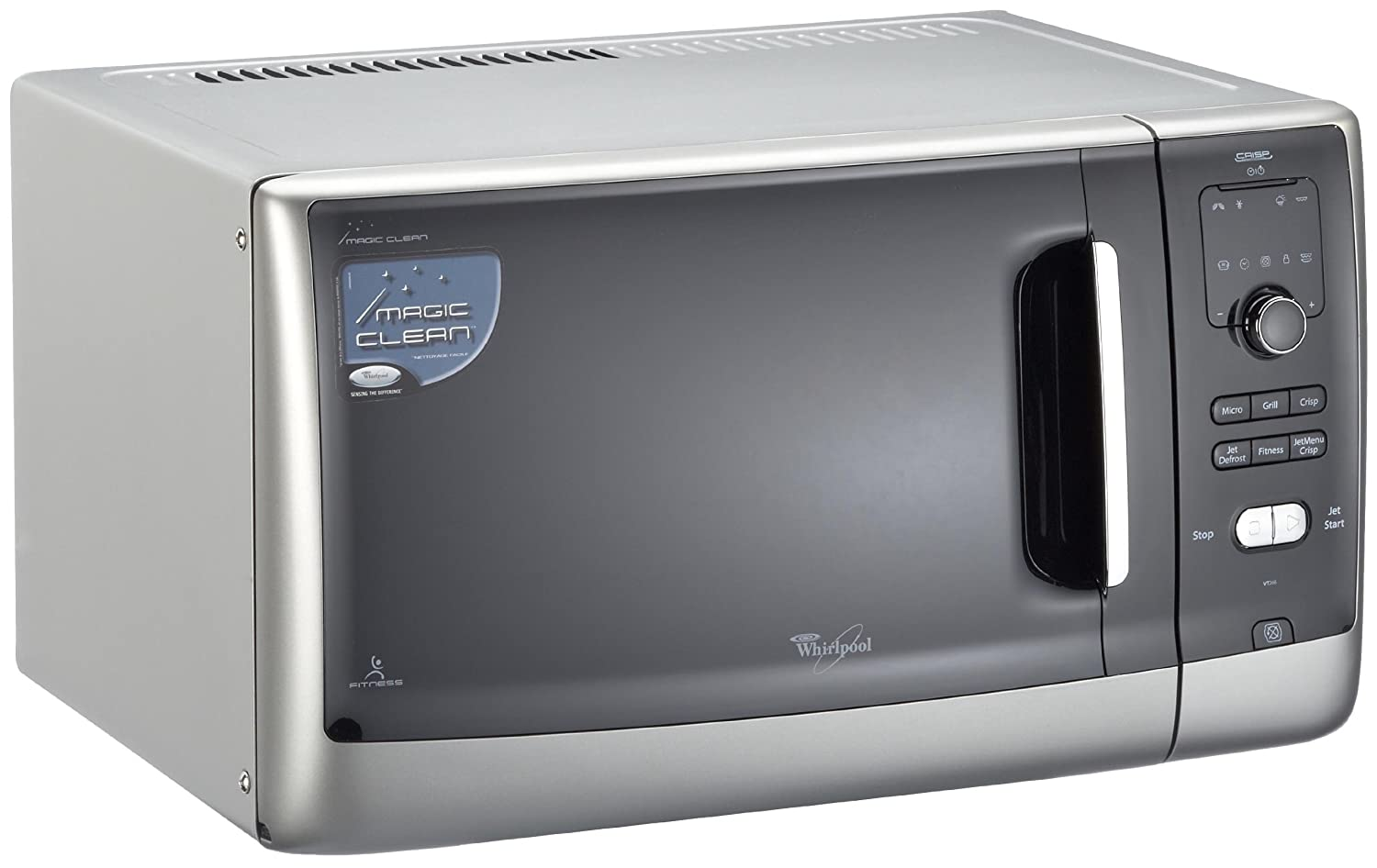 Whirlpool VT266/SL Microonde Grill, colore: Silver: Amazon.it ...