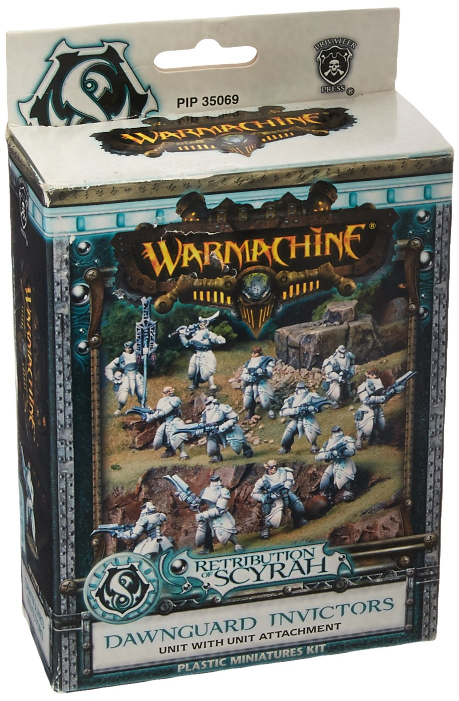 CDM product Privateer Press PIP35069 War Machine Retribution Dawnguard Invictors Kit big image