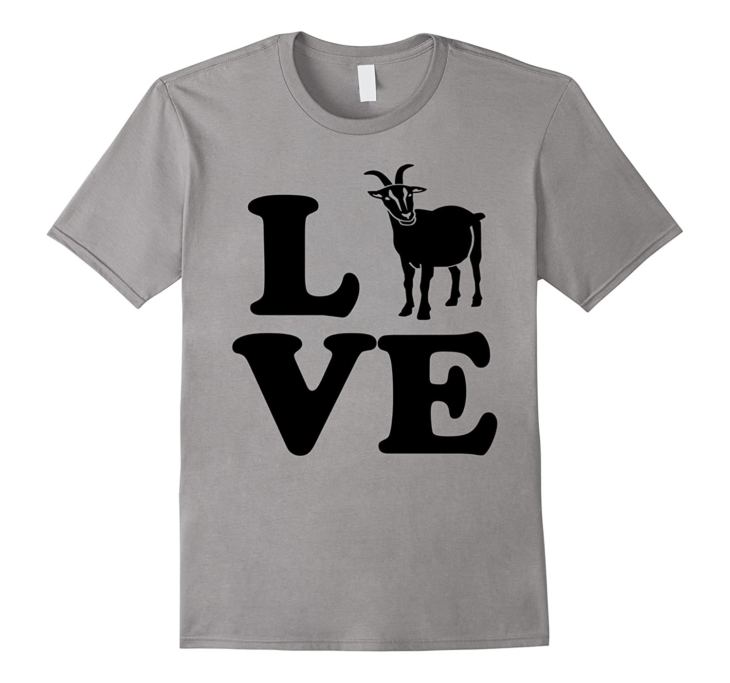 Barnyard Farm Animal, Love Mountain Goats Tshirtcl