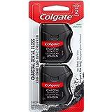 Colgate Charcoal dental floss, Mint, 2 Count