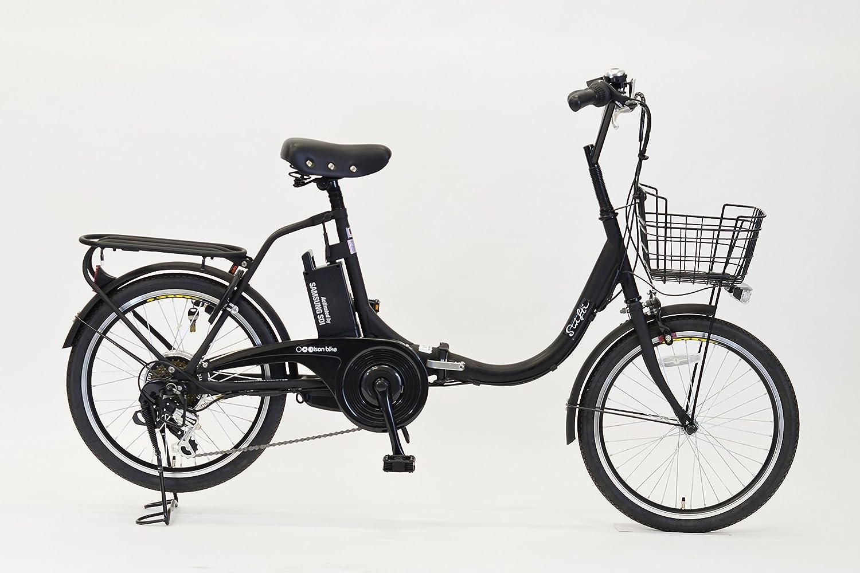 エイサン(EISAN) 折りたたみ電動自転車 swifti-20 20インチ 6段変速 8.4Ahリチウムイオンバッテリー搭載 B072KMBGMV  ブラック