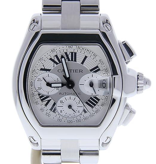Cartier Roadster Automatic-Self-Wind Mens Reloj 2618 (Certificado) de Segunda Mano: Cartier: Amazon.es: Relojes