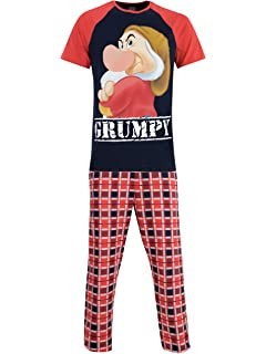 Disney Mens Grumpy Pajamas
