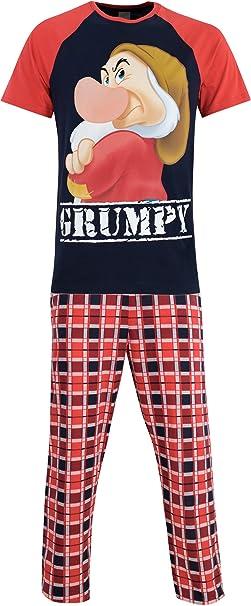 Disney Mens Grumpy Pyjamas