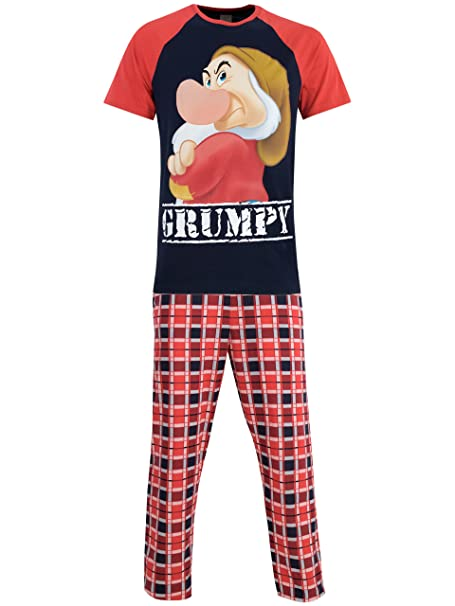 Disney Gruñón - Pijama para Hombre - Grumpy - Small