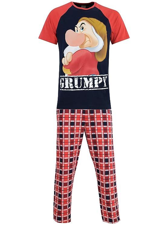 dc2e3b6048 Disney Gruñón - Pijama para Hombre - Grumpy  Amazon.es  Ropa y accesorios