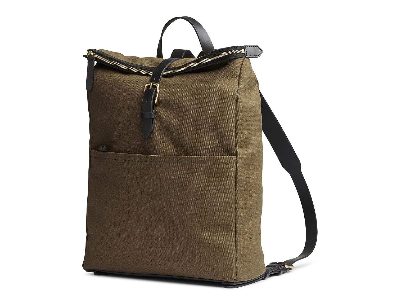 (ミスモ) Mismo EXPRESS Bag -旅行バッグ  KHAKI/BLACK 書類ビジネスファッションバックパックバッグ(並行輸入品) One Size カーキ/ブラック B07H35RCDM