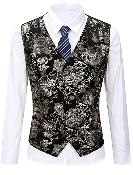 Amazon.com: jassyoy traje de diseño de flores 3 Botón ...