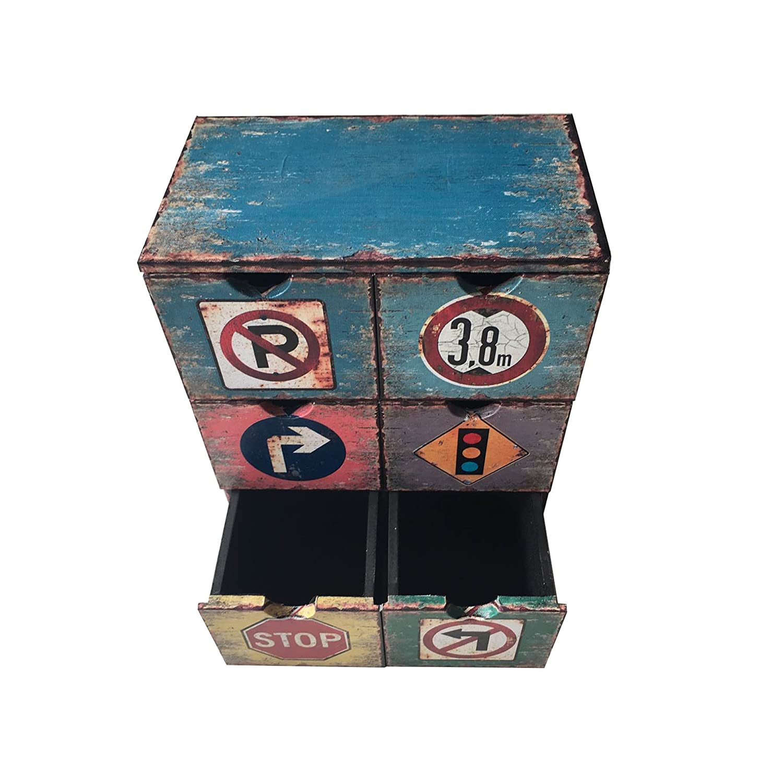 Cod. RE4946 Mobili Rebecca Caja Decorativa Joyero Organizador 6 ...