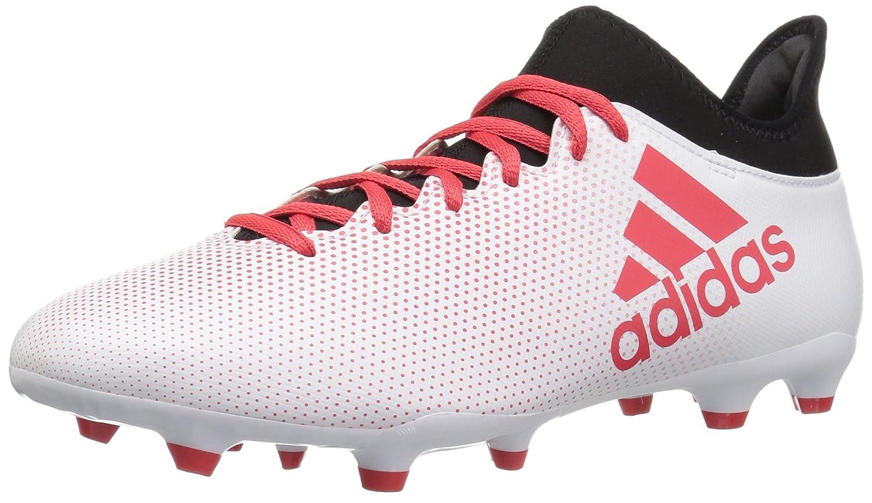 adidas Men's X 17.3 Fg Soccer Shoe B07289329L 13.5 D(M) US|White/Real Coral/Core Black