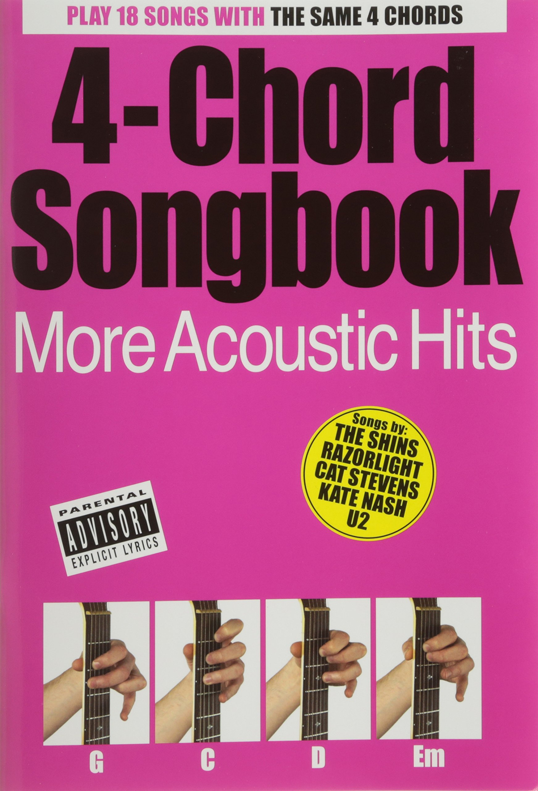 4 Chord Songbook More Acoustic Hits Lyrics Chords Songbook Fr