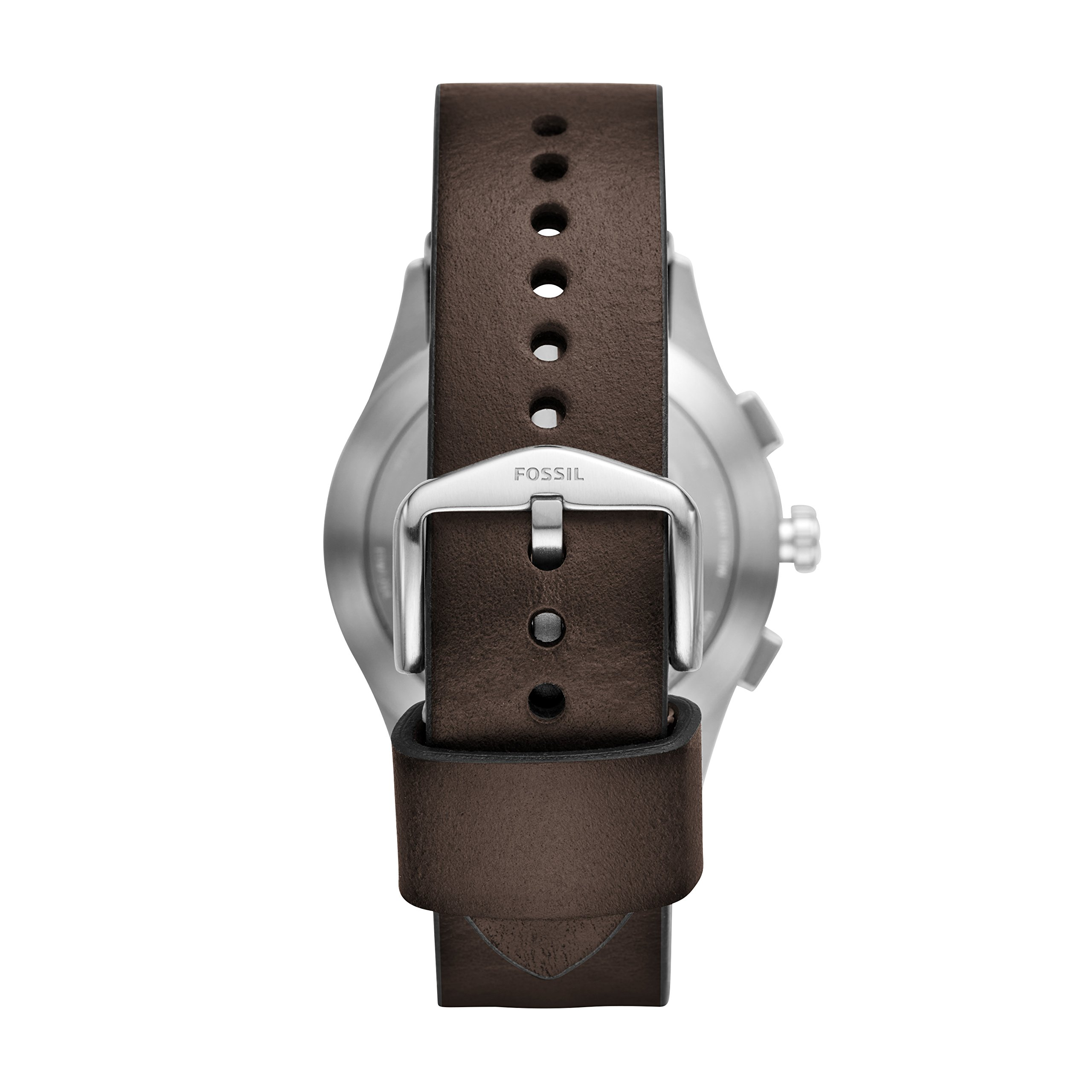 Fossil Hybrid Smartwatch - Q Activist Brown Leather FTW1204 by Fossil (Image #2)