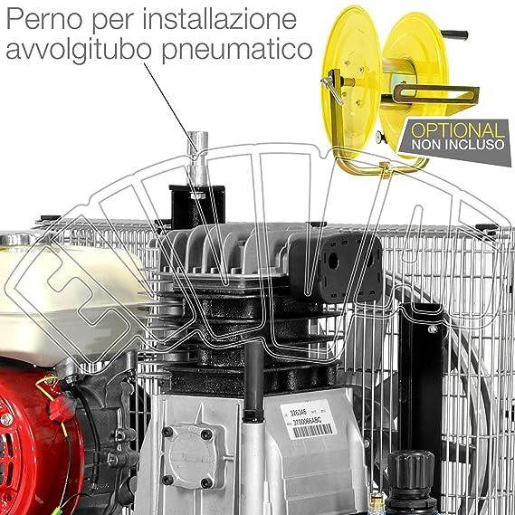 motocompressore 5,5hp 22 + 22lt Motor Honda GX 160 Gasolina Compresor Aire: Amazon.es: Hogar