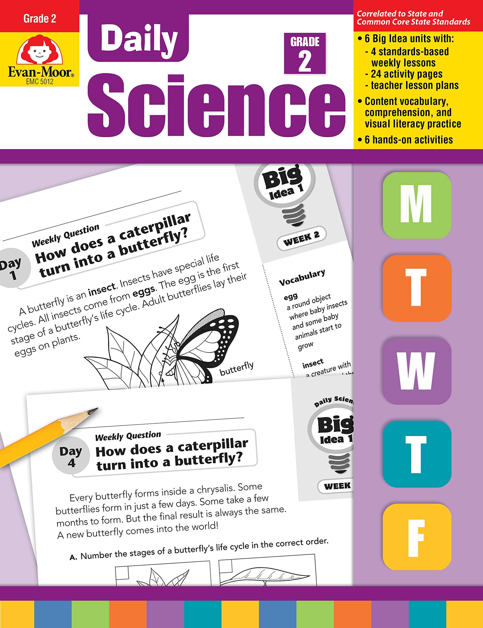 Evan-Moor Daily Science, Grade 2: Evan Moor: 9781596734203
