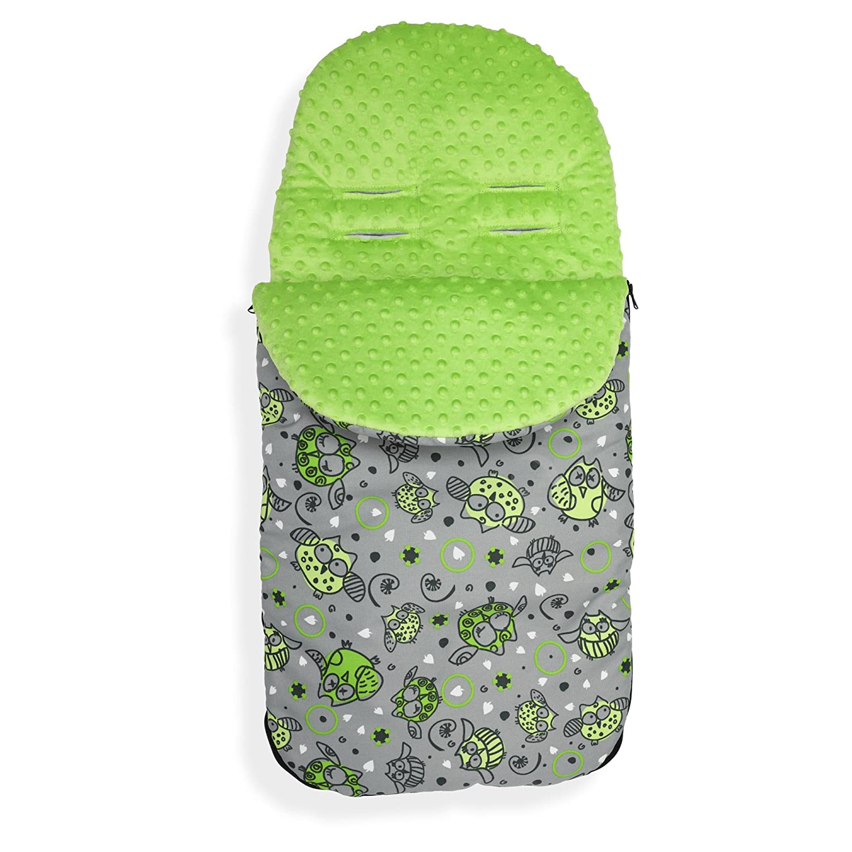 Baby Stroller cosytoes Liner Buggy Padded Luxury Footmuff Waterproof Universal M P159// pink minky