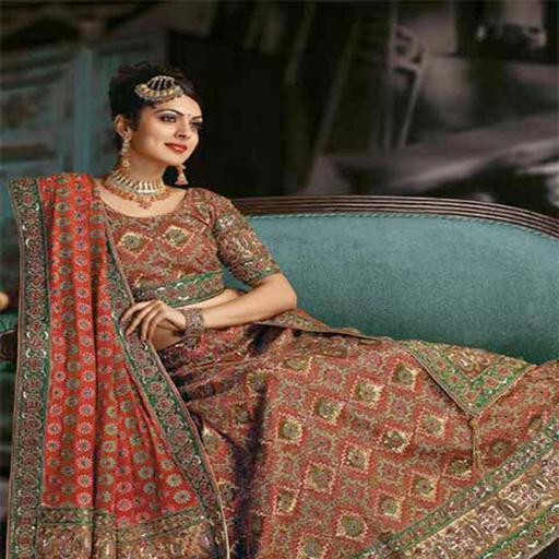 Ghagra Choli Dress Design for Indian Girls Vol 1