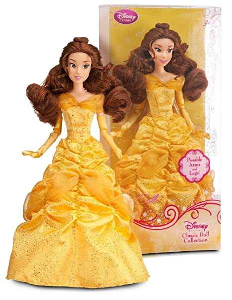 """130b3ccdb3 Image Unavailable. Image not available for. Color: Princess Belle ~12""""  Doll - Disney Princess Classic Doll Collection"""