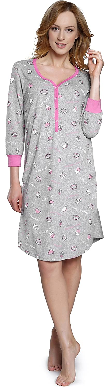 TALLA S. Italian Fashion IF Camisón Mujer IF180013