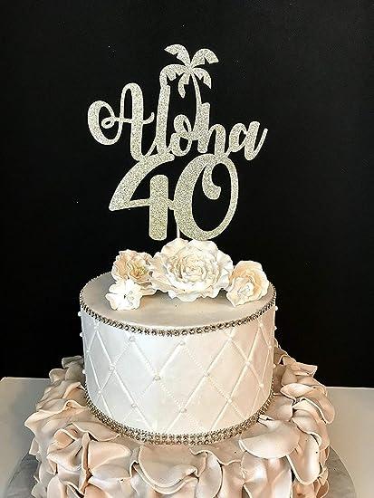 Amazon.com: Cheyan Decoración para tarta de boda, con ...