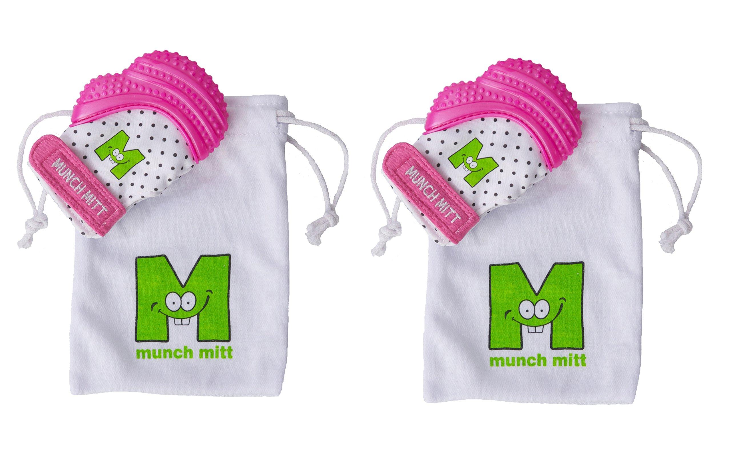 Amazon Com Munch Mitt Teething Toy Stays On Baby S Hand Is Self