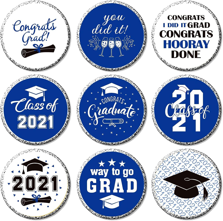 Nursing Doctorate Graduation Celebration Decor Blue 500 Pieces ...