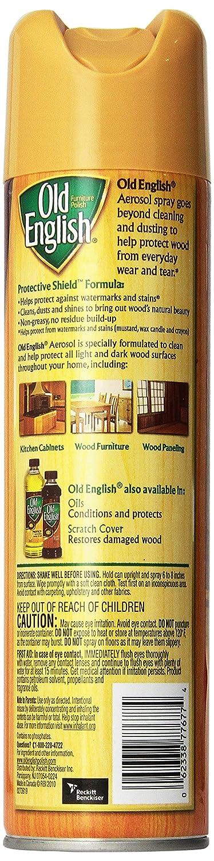 Amazon.com: Old English Furniture Polish, Lemon 150 Oz (12 Cans X 12.5 Oz):  Health U0026 Personal Care