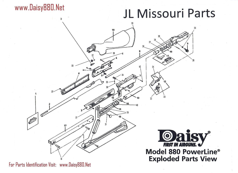 Daisy Powerline 7880 880 35 880s Rebuild Kit Reseal Seal Gun Bb Air Rifle Parts Set