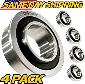 (4 Pack) John Deere Sealed Wheel Bearings D130 D140 D150 D155 D160 - OEM Upgrade - HD Switch