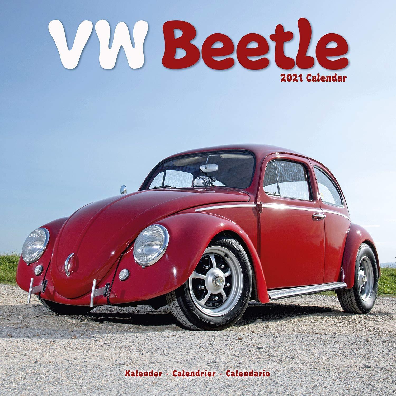 VW Beetle Calendar  Calendars 2020   2021 Wall Calendars   Car