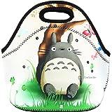 Newplenty Lunch Bag Waterproof Picnic Tote Insulated Cooler Zipper Box Totoro
