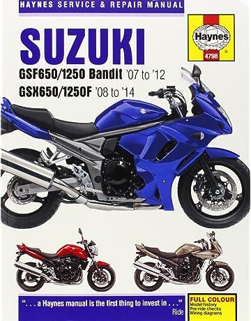 Suzuki Gsf650/1250 Bandit & GSX650/1250F (07 - 14) (Haynes