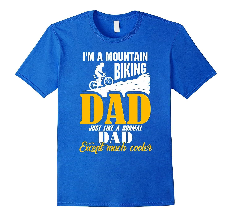 Mens Funny Mountain Bike Shirts Mountain Biking Dad T Shirt Vaci